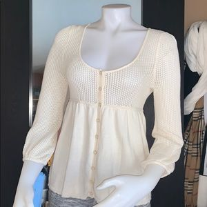 Juicy couture sweater top sz small euc
